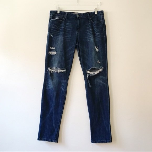 Joe's Jeans Denim - Joe's Vintage Reserve 1971 Distressed Skinny Jeans